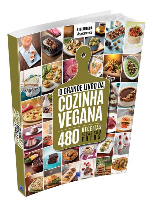 O Grande Livro da Cozinha Vegana - 480 Receitas